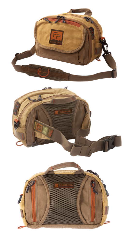 Fishpond Blue River Chest/Lumbar Pack in the color Earth