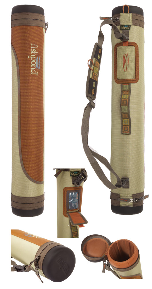Fishpond Jackalope Rod Tube Case Showing Multiple Views