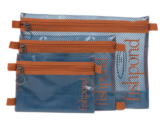 Fishpond Sandbar Travel Pouch in all three sizes.