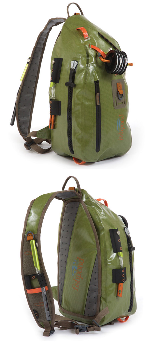 Fishpond sling packs free ground shipping for Fly fishing sling pack